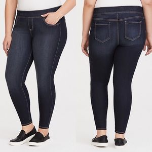 Torrid Lean Jean Super Stretch Skinny Dark Wash